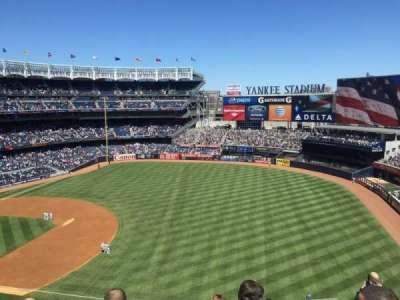 Yankee Stadium, section: 312, row: 3, seat: 3