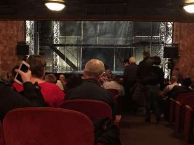 August Wilson Theatre, section: Y, row: X, seat: 1