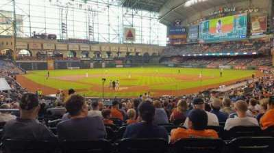 Minute Maid Park, section: 120, row: 31, seat: 4