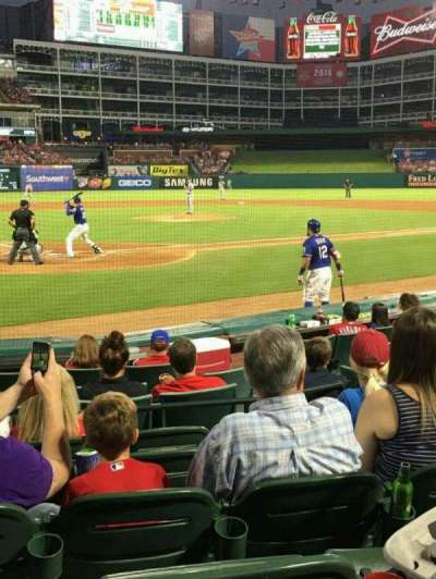 Globe Life Park in Arlington, section: 28, row: 6, seat: 5