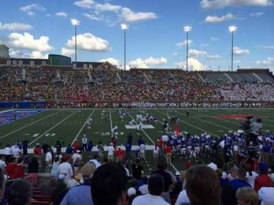 Gerald J. Ford Stadium, section: 106, row: 14, seat: 17