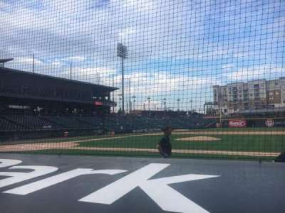 BB&T Ballpark (Charlotte) section 107