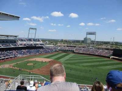 TD Ameritrade Park, section: 303, row: K, seat: 16