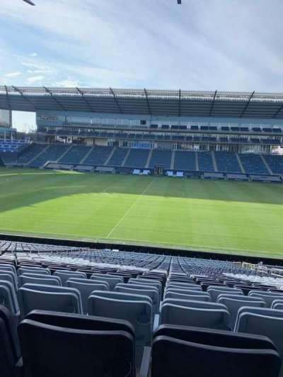 Children's Mercy Park, section: 130, row: 30, seat: 14