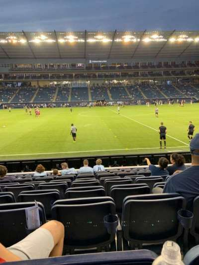 Children's Mercy Park, section: 129, row: 10, seat: 9