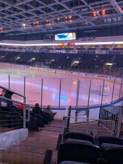 Silverstein Eye Centers Arena, section: 119, row: K, seat: 13