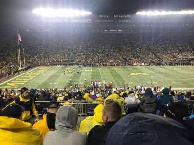 Michigan Stadium, section: 3, row: 62, seat: 16