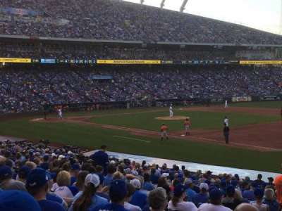Kauffman Stadium section 140