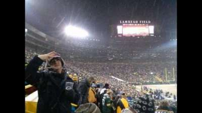 Lambeau Field section 111