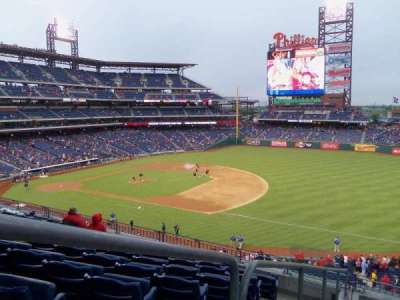 Citizens Bank Park, section: 211, row: 7