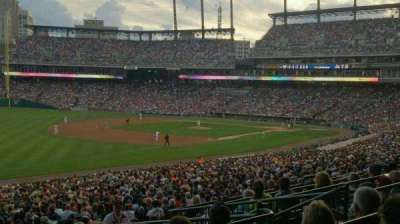 Comerica Park, section: Terrace 141 A, row: E, seat: 6