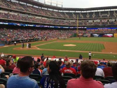 Globe Life Park in Arlington, section: 33, row: 20, seat: 9