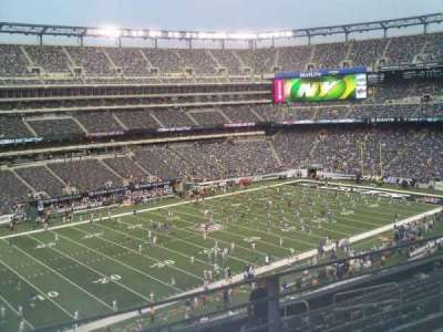 MetLife Stadium section 244