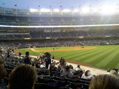 Yankee Stadium section 108