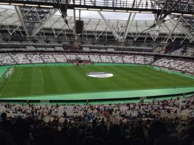 London Stadium, section: 233, row: 164, seat: 517