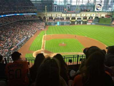 Minute Maid Park, section: 323, row: 4, seat: 11