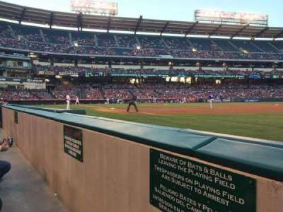 Angel Stadium, section: F127, row: AA, seat: 18