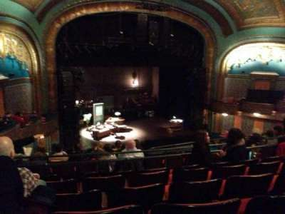 Curran Theater, section: Mezzanine, row: H, seat: 19
