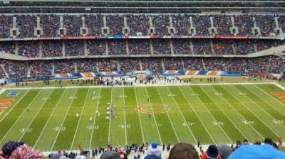 Soldier Field, section: 438, row: 26, seat: 16
