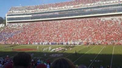 Razorback Stadium, section: 102, row: 19, seat: 19