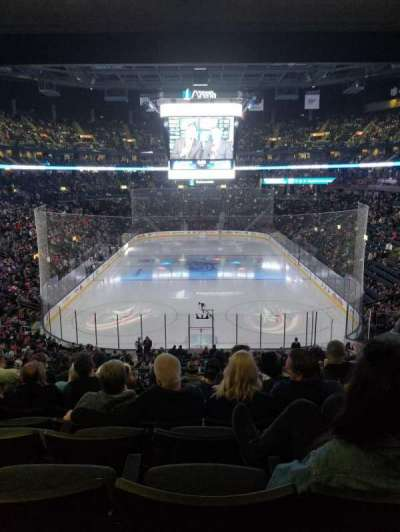 Nationwide Arena, section: 120, row: MM, seat: 10