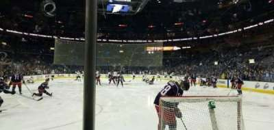 Nationwide Arena, section: 120, row: B, seat: 11