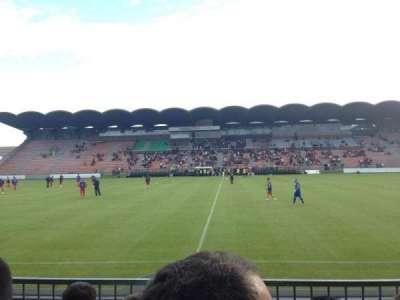 Stade Jean Bouin, section: St Léonard centrale, row: Esc6 Rang D, seat: 104