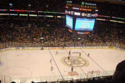 TD Garden, section: BAL 318, row: 11, seat: 8