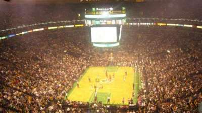 TD Garden, section: BAL 308, row: 10, seat: 5