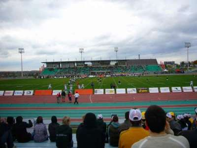Stade de l'université de Sherbrooke, section: SUD JJ, row: G, seat: 53