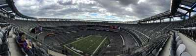 Metlife Stadium, section: 417, row: 18, seat: 17
