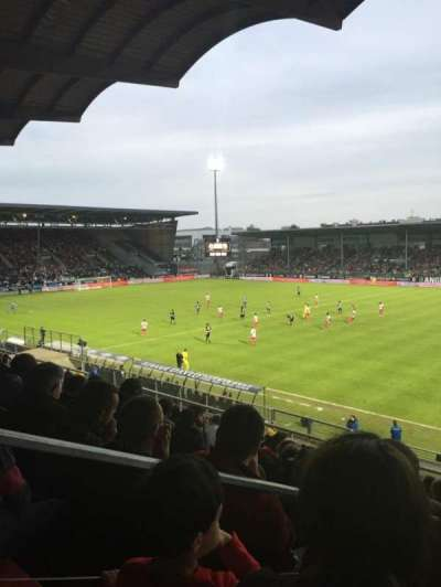 Stade Jean Bouin, section: Jean Bouin Laterale, row: S, seat: 1