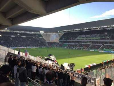 Stade Geoffroy-Guichard section Tribune H.Point