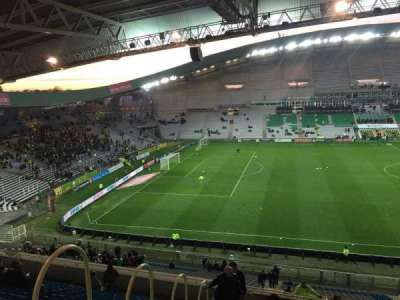Stade de la Beaujoire, section: Oceane Haut, row: Q, seat: 168