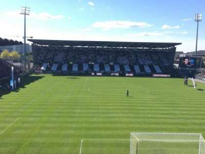 Stade Jean Bouin, section: Coubertin, row: Haute