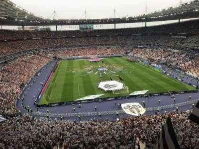 Stade de France, section: Nord Haute, row: L15, seat: 67-1