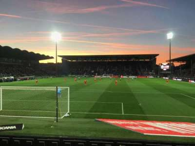 Stade Raymond Kopa, section: Colombier D, row: I, seat: 30