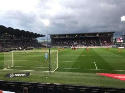 Stade Raymond Kopa, section: Colombier, row: D, seat: 30
