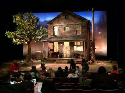 Berlind Theatre, section: Floor1, row: F, seat: 104