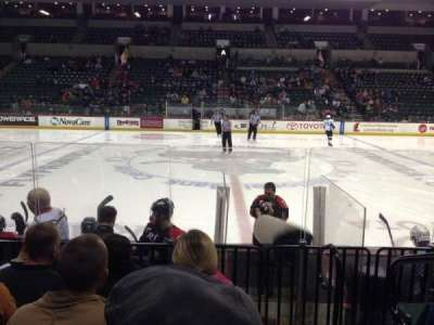 Cure Insurance Arena, section: 116, row: FF, seat: 1