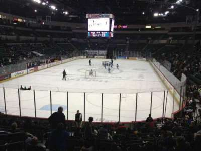 Cure Insurance Arena, section: 110