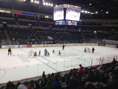 Cure Insurance Arena, section: 107