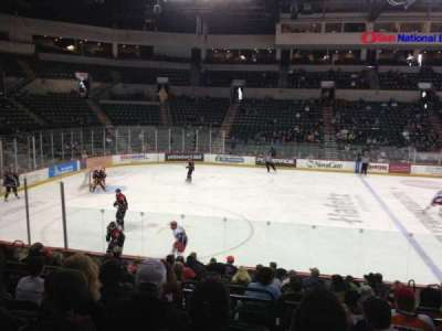 Sun National Bank Center, section: 117, row: F, seat: 5