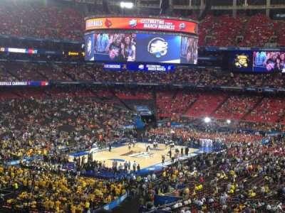 Georgia Dome, section: 230, row: 15, seat: 7