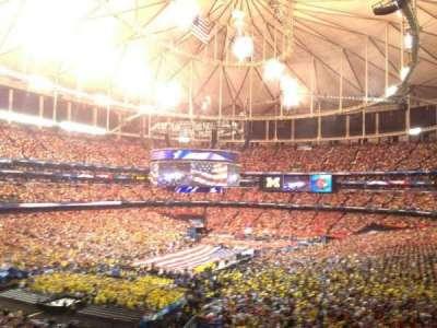 Georgia Dome, section: 230, row: 15, seat: 10