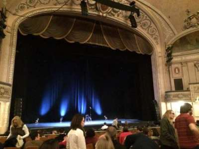 Merriam Theater, section: Orchestra, row: N, seat: 11