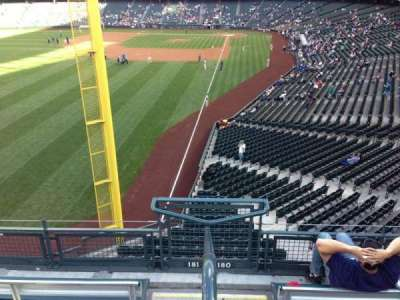SafeCo Field, section: 181, row: 2, seat: 23