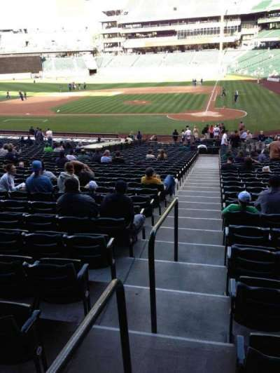 SafeCo Field, section: 134, row: 35, seat: 34