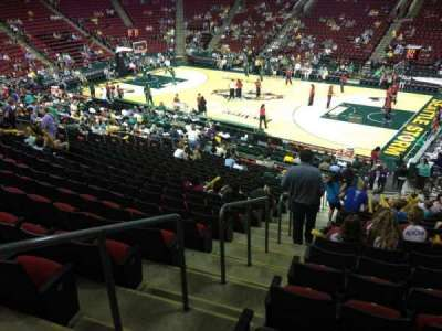 KeyArena, section: 113, row: 22, seat: 21