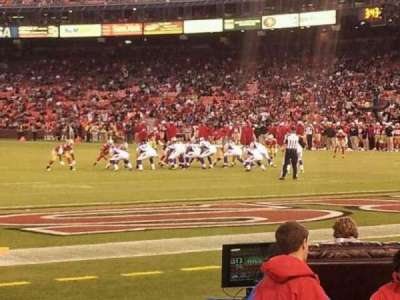 Candlestick Park section LR 44